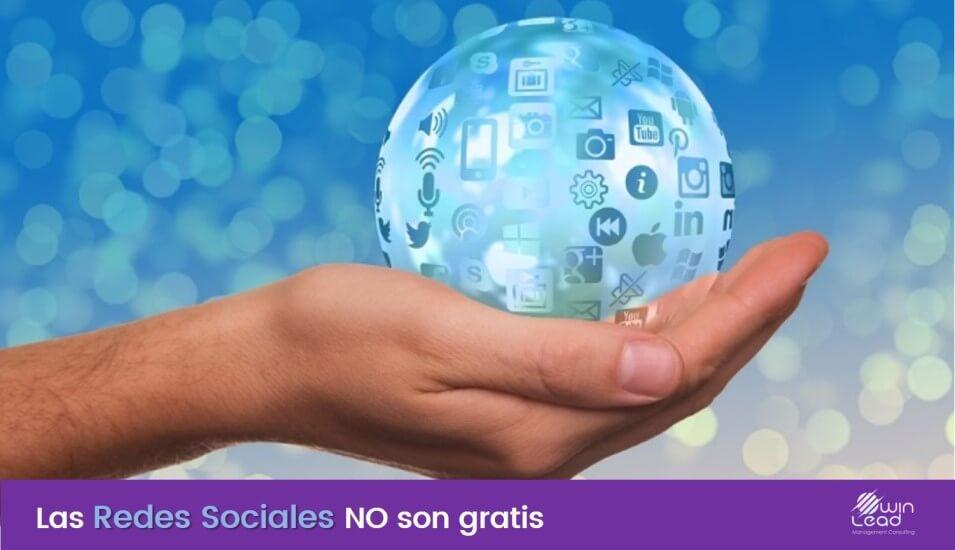 Winlead redes sociales no son gratis