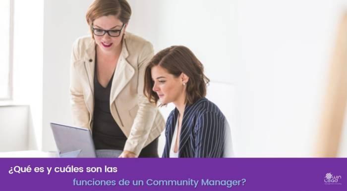 winlead funciones de un community manager